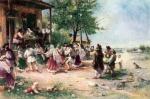 Theodor Aman -Round-dance at Aninoasa