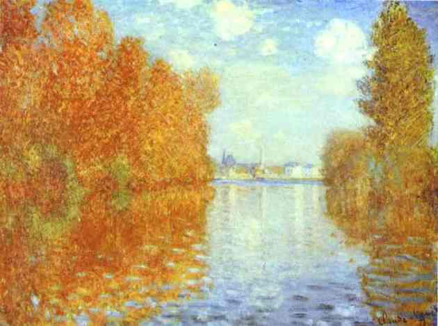 Claude Monet,Autumn at Argenteuil