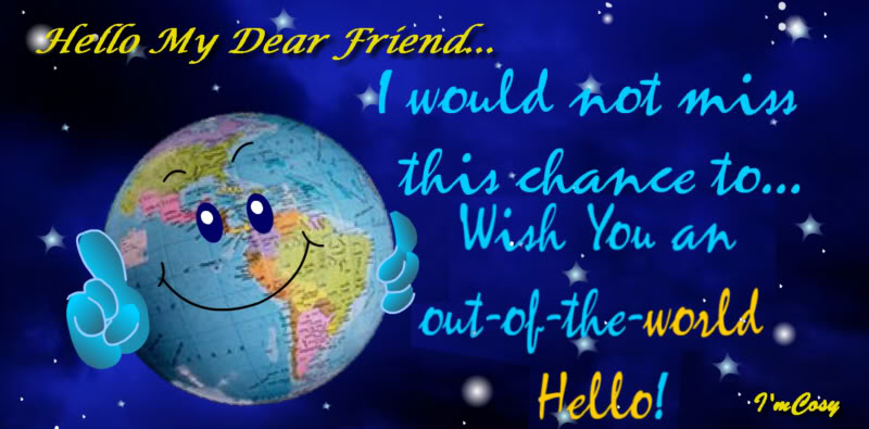 World Hello Day World Hello Day