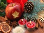 Weihnachtszeit - Apfel
