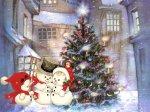 Snowmen-and-Christmas-tree