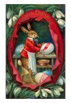 EA-00034-C~Joyful-Easter-Rabbit-inside-Egg-Posters