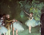 Edgar Degas. Ballet sample