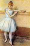 Edgar Degas. Dancer at the Barre 1