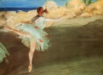 Edgar Degas. Dancer on Point