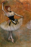 Edgar Degas. Dancer with Tambourine