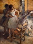 Edgar Degas. Dancers 5
