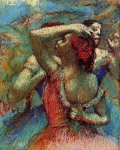 Edgar Degas. Dancers 6