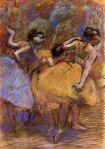 Edgar Degas. Dancers 7