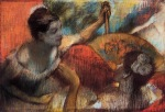 Edgar Degas. Dancers in a Box