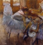 Edgar Degas. Dancers Relaxing
