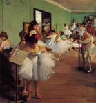 Edgar Degas - Dancing Examination