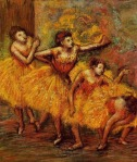 Edgar Degas - Four Dancers.