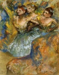Edgar Degas. Group of Dancers 1