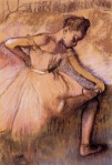 Edgar Degas. Pink Dancer