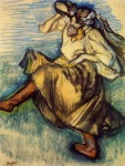 Edgar Degas. Russian Dancer