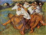Edgar Degas. Russian Dancers