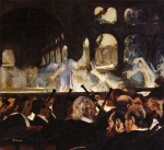 Edgar Degas. The Ballet Scene from 'Robert la Diable'