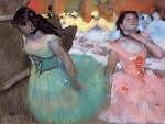 Edgar Degas. The Entrance of the Masked Dancers