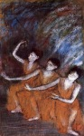 Edgar Degas. Three Dancers 2