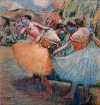 Edgar Degas. Three Dancers 5