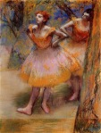 Edgar Degas. Two Dancers