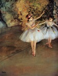 Edgar Degas. Two Dancers on Stage