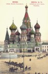 postcard of Saint Basil's Cathedral