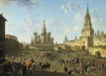 Red Square in Moscow (1801) by Fedor Alekseev