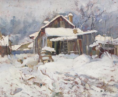 Aurel Băeșu – Casa de mahala in Iasi