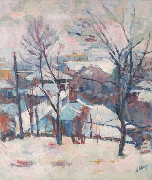 Aurel Ciupe – Iarna la Cluj