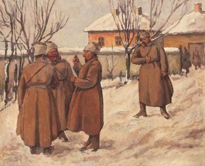 Camil Ressu - Iarnă grea (Ruși la Iași)