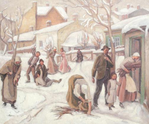 Camil Ressu – Zi de iarnă