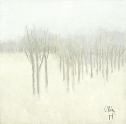 Constantin Piliuță - Peisaj de iarnă