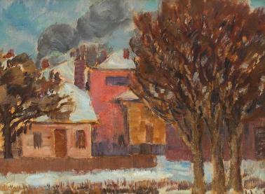 Dumitru Ghiaţă - Sfârșit de iarnă
