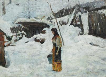 Gheorghe Petrașcu – Iarnă grea