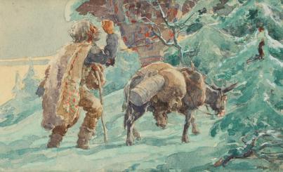 Ignat Bednarik – Călători în faţa troiţei