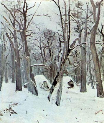 Ion Andreescu - Pădure iarna