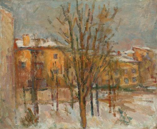 Ion Musceleanu - Iarna în Pangratti