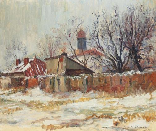 Jean-Alexandru Steriadi – Peisaj de iarnă