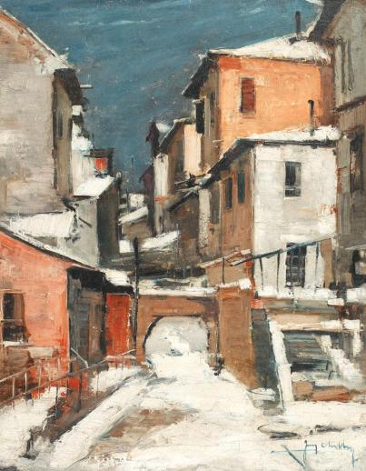 Jean Cheller – Iarna în mahala
