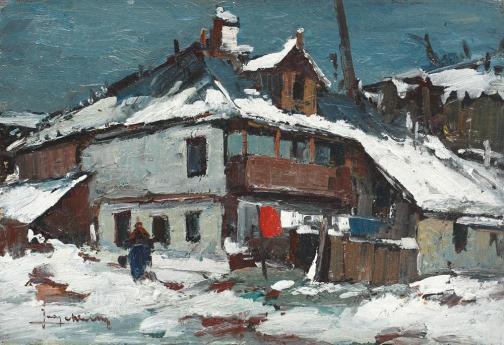 Jean Cheller – Iarnă