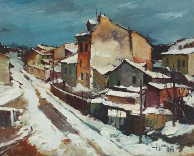 Jean Cheller - Iarnă.