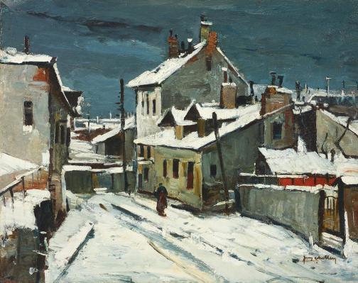 Jean Cheller – Peisaj de iarnă