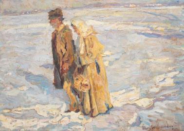 Rudolf Schweitzer-Cumpăna - Cu covrigii (Pregătiri de Crăciun)