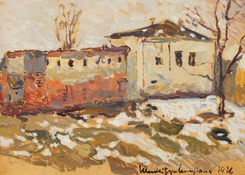 Rudolf Schweitzer-Cumpăna – Sfârșit de iarnă la Gherla