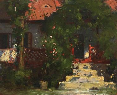Adam Bălțatu - Casa cu flori