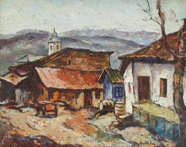 Adam Bălțatu - Case la Huși