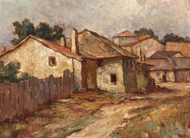 Adam Bălțatu - Case la perifieria Iaşiului