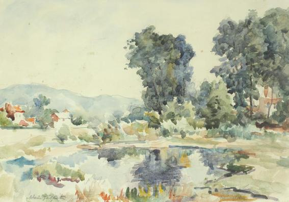 Adam Bălțatu - Peisaj de primăvară
